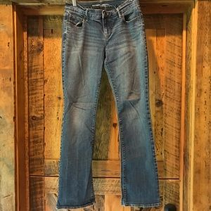 Size 2 Old Navy boot cut jeans.